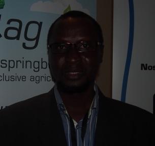 Sylvestre Ouédraogo, Président de l'Association Yam Pukri qui a mise au point AGRICO, un logiciel de gestion des coopératives agricoles