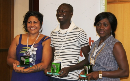 En 2012, j'ai reçu à Addis Abeba le 2e prix du concours de journalistes sur les chaines de valeur agricoles
