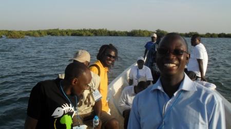 En mer, visite de l'aire marine protégée de Joal (Sénégal - 2011)