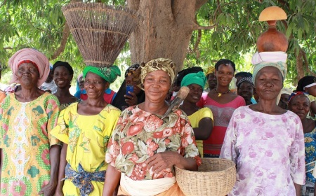 105 femmes dans la commune rurale de Cassou sont devenues propriétaires légales de terres rurales