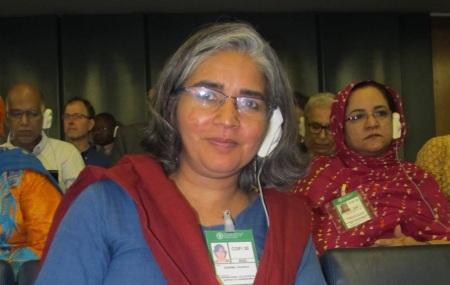 Chandrika Sharma, pionnière dans la défense des droits des pêcheurs artisans à travers le monde a disparu avec le vol MH370 de la Malaisia Airlines